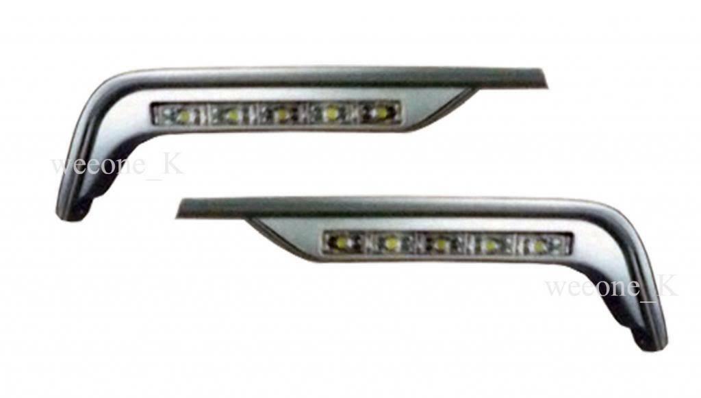 LED L.E.D DAYLIGHT DAY LIGHT LAMP FOR NISSAN FRONTIER NAVARA D40 2005 - 2014