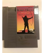 Nintendo NES Video Game Robin Hood Prince Of Thieves Cleaned & Tested - $10.50