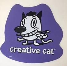 Cranium Hullabaloo Childrens Game Creative Cat Purple Foot Mat Floor Pad... - $5.34