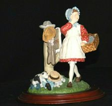 Days to Remember - Norman Rockwell Girl No Swimming Figurine AA19-1649 Vintage image 4