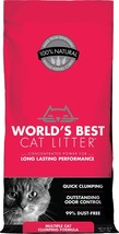 World's Best Cat Litter Scoopable Multiple Cat Clumping Formula - $42.08