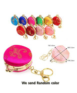3 random color Korean style coin purses made in Korea - $23.64