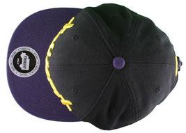 Trukfit Noir Hommes Violet Jaune Galaxy Baseball Casquette Chapeau T1208H09 Nwt image 6