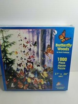 David Penfound Butterfly Woods 1000 Piece Puzzle By Sunsout New Facorty Sealed - $20.79