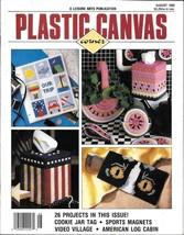 Plastic Canvas Corner Magazine ~ 26 Projects - August 1990 - $8.50