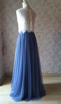 White Lace Sleeveless Crop Top Wedding Sleeveless Lace Blouse Round Neck US0-20 image 8