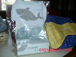 TWO NEW BABY GIFTS - CHOMP & STOMP AND ENFAMIL PLASTIC TOTE - $9.79