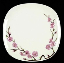 PEACH BLOSSOM by Metlox Poppytrail Set of 2 Dinner Plate S356853G2 Pink Floral  - $18.69