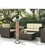 Westinghouse 1500W Freestanding Electric Patio Heater with Remote Control - $139.99
