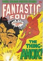 Fantastic Four Comic Book Magazine #8 Marvel UK 1982 VERY FINE - $7.84