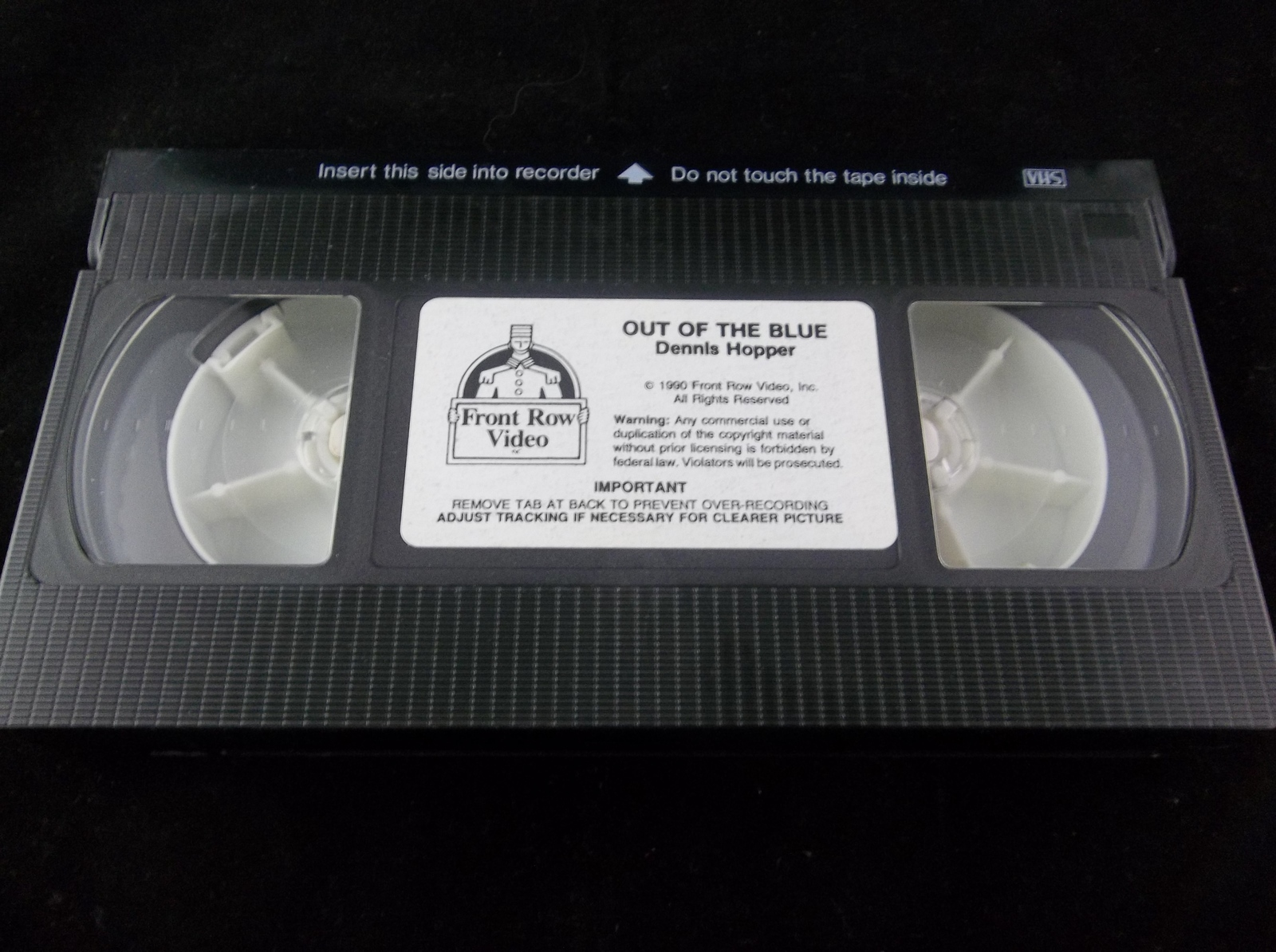 Out Of The Blue Dennis Hopper 1990 VHS