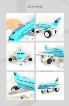 Bandi Toys Melody Light Dream Air 877 Airplane Plane Aircraft Manual Vehicle Toy image 3