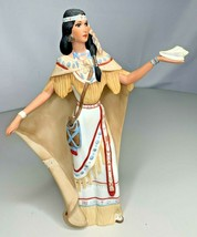 Lenox POCAHONTAS The Legendary Princess Native American Ltd. Ed. #3758 W... - $64.30
