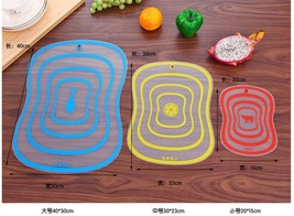 Fat Scrub Category Cutting Board Non - slip Fruit Rubbing Panel Kitchen ... - $15.99