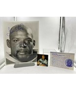 Authentic Autographed Leslie O'Neal Football Photo. - $20.00
