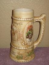 Schlitz Brewing 125th Anniversary Commemorative Stein Mug Cup Ceramarte ... - $14.80