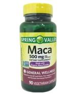 Spring Valley Maca 500mg-Made With Organic Maca Powder-90 Capsules. Exp.... - $9.16