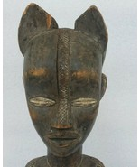 Late 19th - Mid 20th Century West African Baule Female Hand Carved Statu... - $661.49