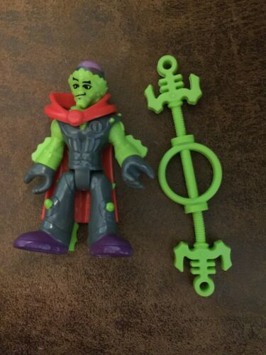 Primary image for Imaginext Blind Bag Series 1 Evil Green Alien With Staff Weapon Fisher-Price