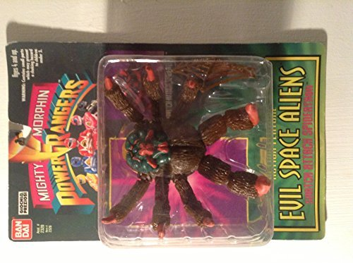 Power Rangers Evil Space Aliens Figure Snatch Attack Spidertron