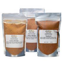 Indian Masala Bundle (3-Pack)   Organic Curry Powder, Tikka Masala & Tan... - $29.69