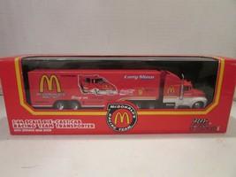 RACING CHAMPIONS 03449 LARRY MINOR 1/64 DIECAST CAB TRANSPORTER MCDONALD... - $11.00