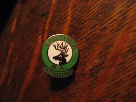 Virginia Elks Club Lapel Pin - BA Instinctive Gold Lodge Organization US... - $19.79