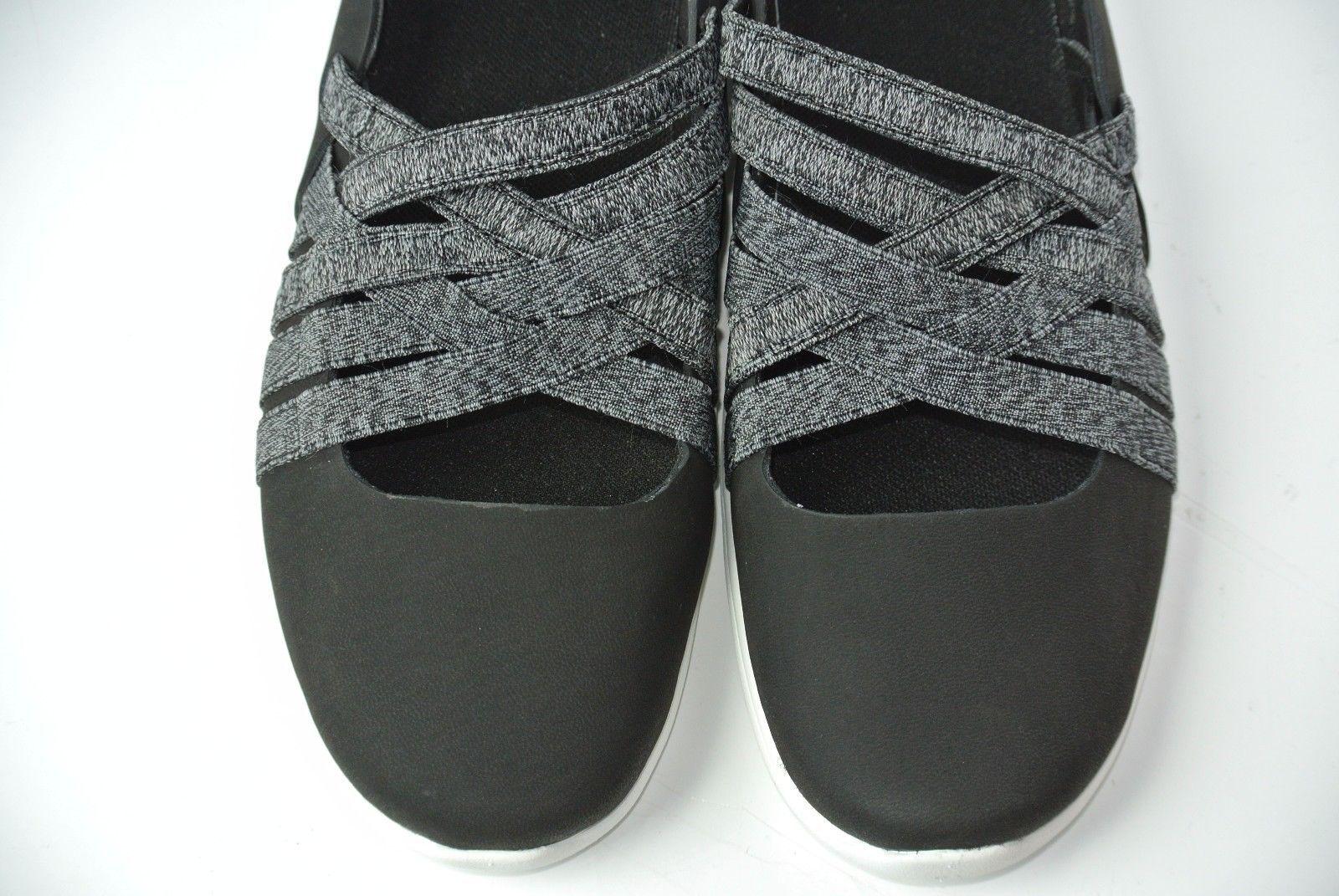 NEW Merrell Flora Kye Womens Sz 6.5 Black Weave Slip-on Ballet Sneakers Shoes