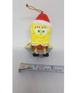 SPONGEBOB SQUAREPANTS 2005 VIACOM Christmas Xmas tree Ornament Pre-owned... - $14.89