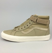 New Vans Sk8-Hi Reissue Strap Skate Shoe Size 11 Men's Leather Suede Canvas - £38.50 GBP