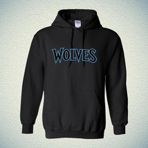 00594 BASKETBALL NBA Minnesota Timberwolves Hoodie Unisex Hooded Sweatrshirt wit - $25.99+