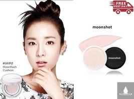 MOONSHOT MoonFlash Cushion 12g SPF 50+ PA +++ (Refill) YG Enter. Korea C... - $28.84