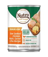 NUTRO PREMIUM LOAF Adult Canned Wet Dog Food Slow Cooked Chicken, Potato... - $35.00
