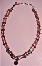 Vintage Signed AVON Antique Chic Drop Necklace Beads Colored Sets - $59.95