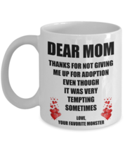 Mothers Day Gift For Mom Mother Birthday Her From Daughter Son Funny Cof... - $14.75