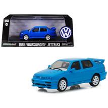 1995 Volkswagen Jetta A3 Blue 1/43 Diecast Model Car by Greenlight 86323 - $28.71