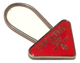 Authentic Prada red Key Chain Ring or bag charm - $89.00
