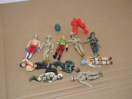 Vtg 1990's Lanard The Corps Soldiers & Parts - $24.74