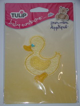 TULIP - baby couture Iron-on Applique - Baby Duck - $8.00