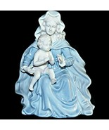 1980 roman valencia figure collection madonna mary and baby boy jesus ch... - $70.62