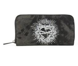 Lost Queen Sacré Coeur Tatouage Punk Gothique Portefeuille WT41055 - $25.08