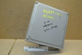 02-04 Honda Odyssey Engine Control Unit ECU 37820P8FA84 Module 230-9B4  - $14.99