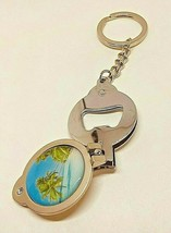 Tropical Palm Trees Key Chain Nail Clipper Bottle Opener Combo Three in ... - $8.50