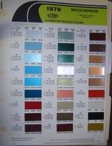 1973 Dupont Import Paint chips Datsun, Fiat, Opel Porsche Toyota MG, VW ... - $15.70