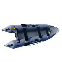 BRIS 14.1ft Inflatable Kayka Canoe Boat Fishing Tender Poonton Boat image 5