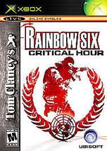 Tom Clancy's Rainbow Six: Critical Hour (Microsoft Xbox, 2006) VERY GOOD - $4.51