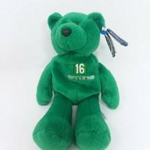 Vinny Testaverde #16 Limited Treasures Bean Bag Pro Bear Plush 1998 NY New York - $11.26