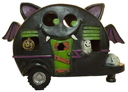 Primary image for Gnz 5 Inch Light Up Bat Pull Behind Camper Trailer Halloween Decoration