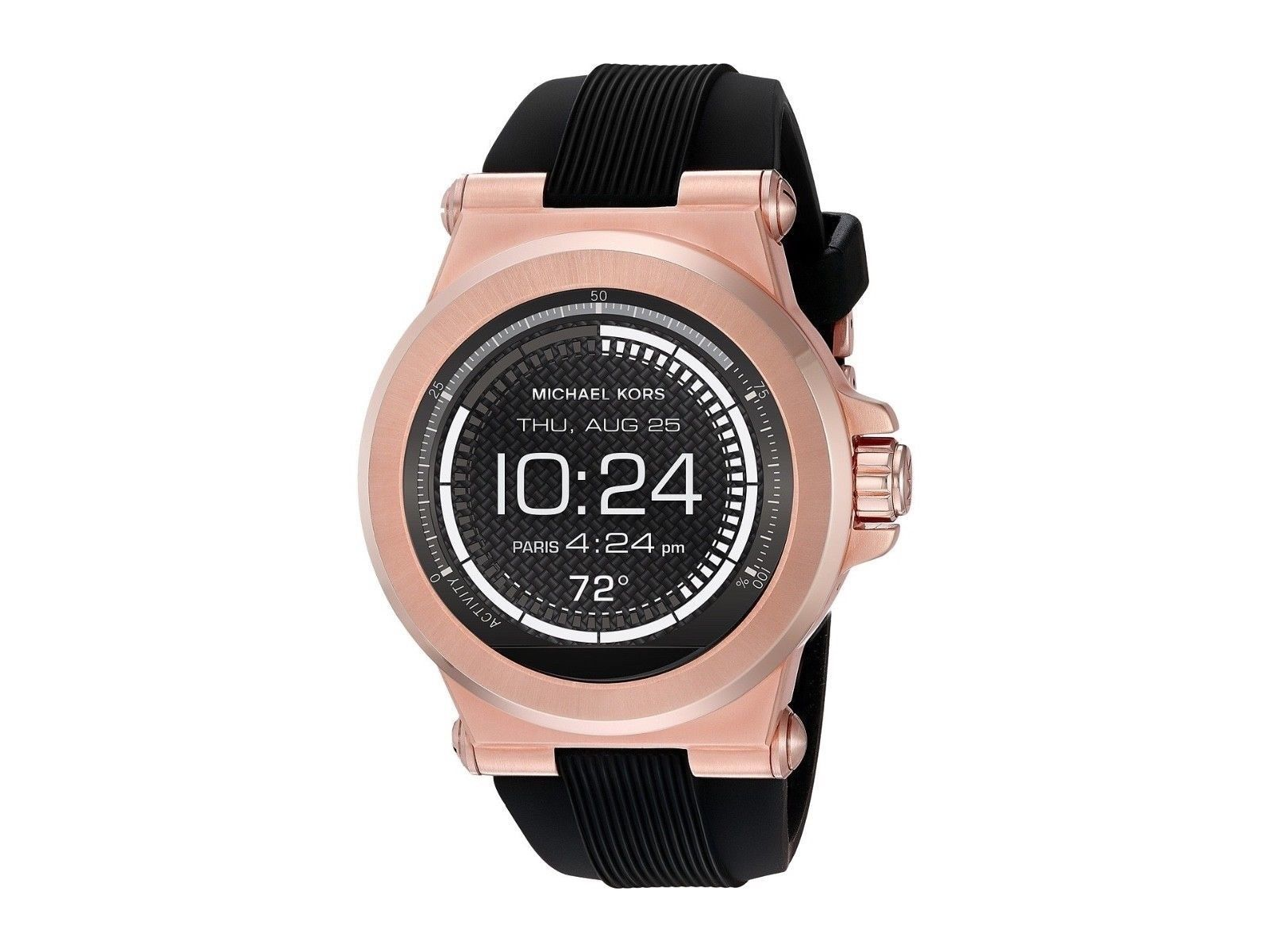 d0f16fa5ea BRAND NEW MKT5010 Michael Kors Access Dylan Touch Screen Smartwatch Rose  Gold