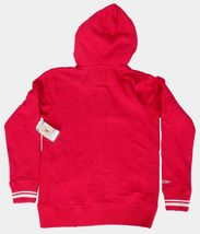 Mitchell & Ness Womens Distressed Vintage Detroit Hockey Red Wings Hoodie Large image 9